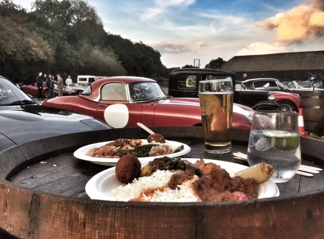 Classic Car and Curry Night
